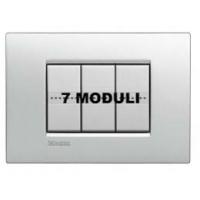 Placca 7 Moduli Tech Bticino Living Air LNC4807TE