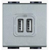 Presa Caricatore USB Bticino Living Light Tech NT4285C2