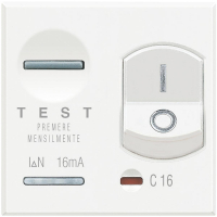 Magnetotermico Differenziale Bticino Axolute Bianca HD4305A16