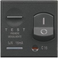 Magnetotermico Differenziale Bticino Axolute Scura HS4305-16