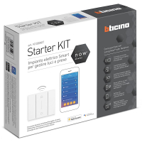 Kit Starter Domotica Bticino Living Now K1000KIT