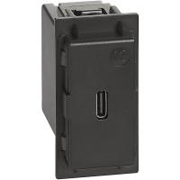 Caricatore USB Tipo C Bticino Living Now K4286C1