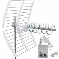 Antenna Fracarro elicoidale KIT LTE 213227 + 270021 alimentatore