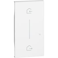 Cover Simbolo Entra & Esci Wireless Bticino Living Now Bianco KW40M2