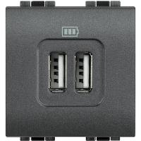 Presa Caricatore USB Bticino Living International L4285C2