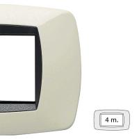 Placca master modo 4 moduli 39TC284
